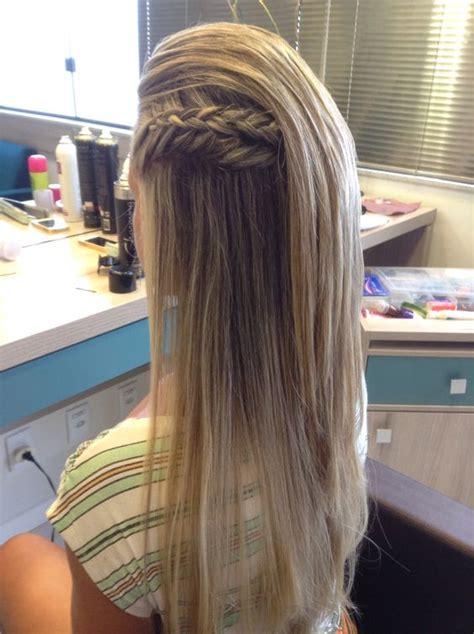 penteados  noivas  cabelos lisos
