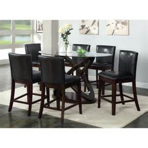 American Freight Dining Room Sets by Furniture Of America Ollivander 7 Piece Counter Height