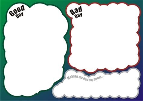 Three Good Things Template by Communicrate Worksheets