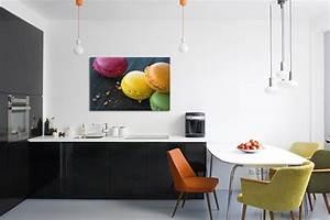 Tableau Pour Cuisine : tableau d co xxl macarons izoa ~ Teatrodelosmanantiales.com Idées de Décoration