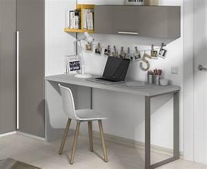 Bureau Avec étagère : table bureau sur mesure avec tag res meubles ros ~ Carolinahurricanesstore.com Idées de Décoration
