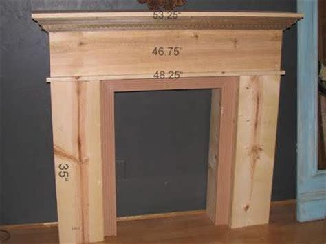 build fireplace mantel diy faux fireplace mantel shelf woodworking projects plans