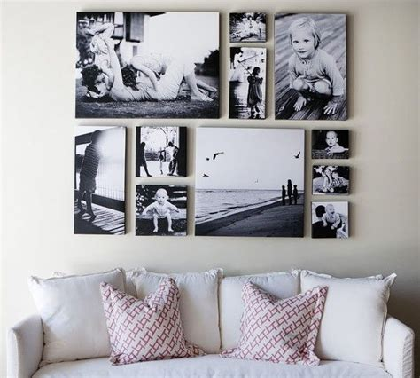 picture wall ideas for living room canvas collage ideas as wall homesfeed
