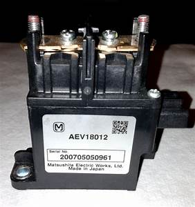 Toyota Prius Hybrid Battery Main System Relay