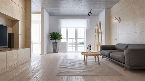 Minimalist Apartment : Minimalist Apartment For A Family Of Four