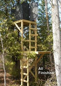 15ft Deer Hunting Box Stand - Finishing The Top