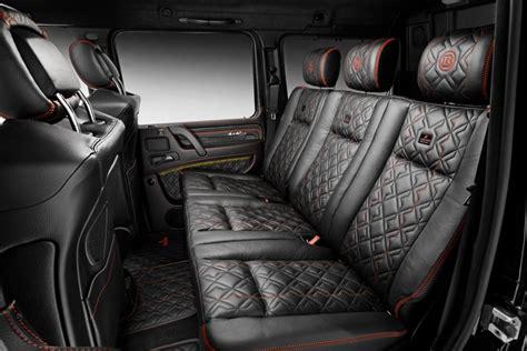 It can be a travel companion, an office. Brabus Leather / Alcantara Interior Conversion: Mercedes Benz G-Class W463 | Scuderia Car Parts