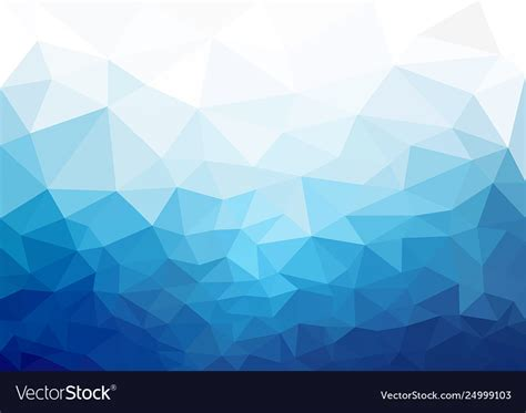 geometric blue cold texture background vector