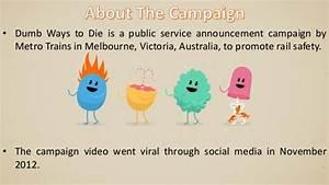 Dumb Ways To Die Melbourne Metro campaign
