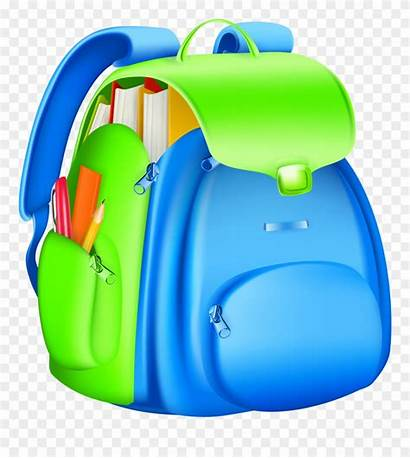 Bag Clipart Backpack Clip Transparent Pinclipart Library