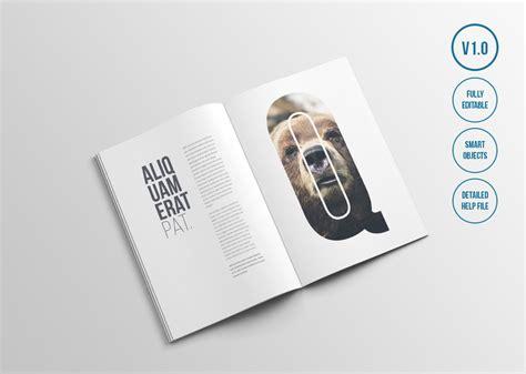 psd magazine book design mockups web graphic