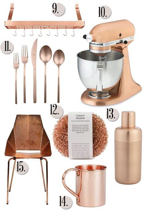 copper coloured kitchen accessories best 25 copper kitchen aid ideas on 5785