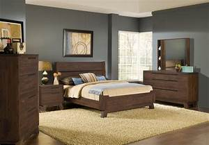 4 piece modus portland solid wood bedroom set With bedroom furniture sets portland oregon
