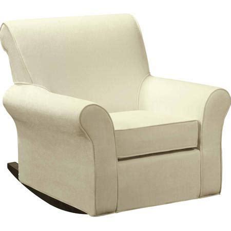rocking chair slipcover dorel rocker slipcover beige walmart com