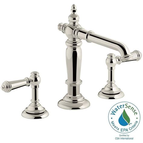 Kohler Artifacts Bridge Faucet by Kohler Artifacts 8 In Widespread 2 Handle Column Design
