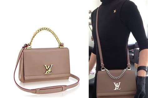 louis vuitton lockme ii bb bag reference guide spotted fashion