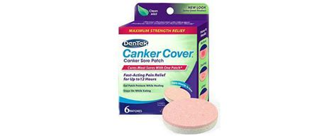 Canker Sore Cover by Dentek Canker Cover Review