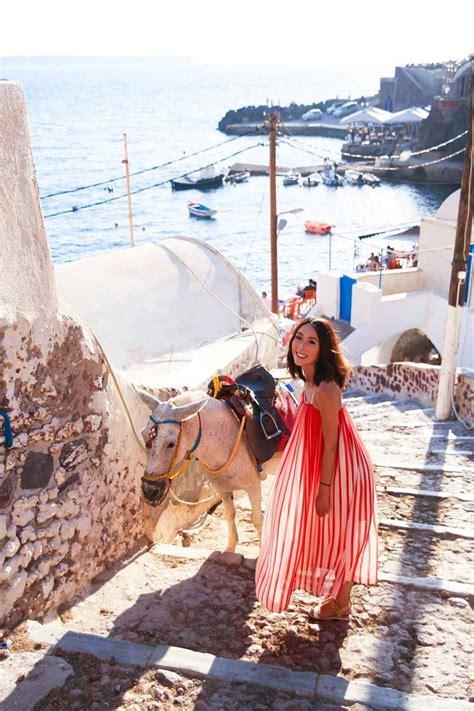 A Guide To Santorini Fira And Oia The Tia Fox