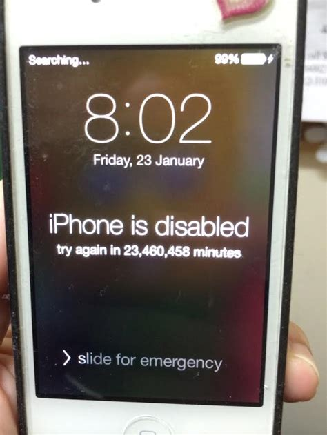 how to disable an iphone how to fix a disabled iphone or ipod lowyat net