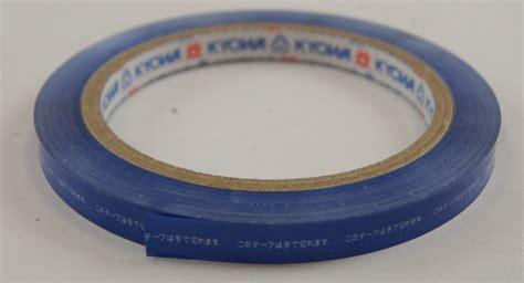 pylon adhesive tape roll blue  kyowa limited mm