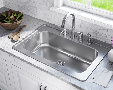 best stainless steel sink us1030t single bowl topmount stainless steel sink