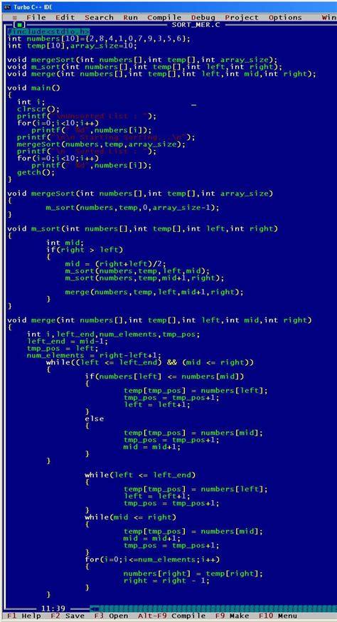Implement merge sort algorithm - IGNOU Assignment 2015 ...