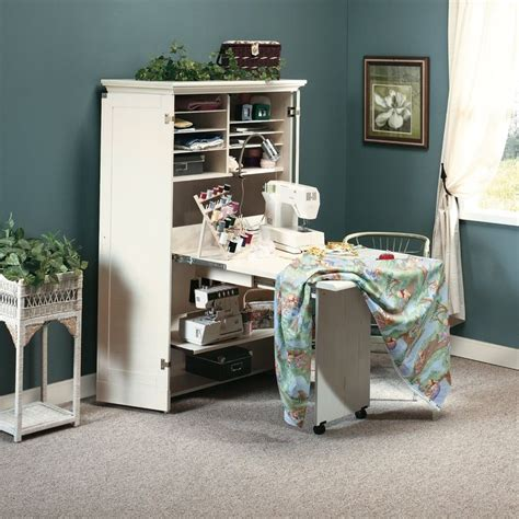 Sewing Machine Armoire Cabinet 9 Best Sewing Machine Cabinet Storage Images On