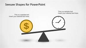Seesaw Shape Diagrams for PowerPoint - SlideModel