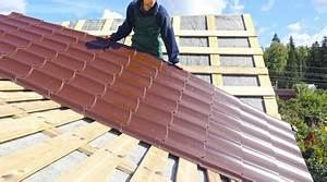 Pose De Bac Acier : prix d 39 une toiture bac acier co t moyen tarif d ~ Nature-et-papiers.com Idées de Décoration