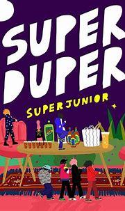 聽歌前,先欣賞好看的專輯封面 » ㄇㄞˋ點子   Super junior, Super, Album