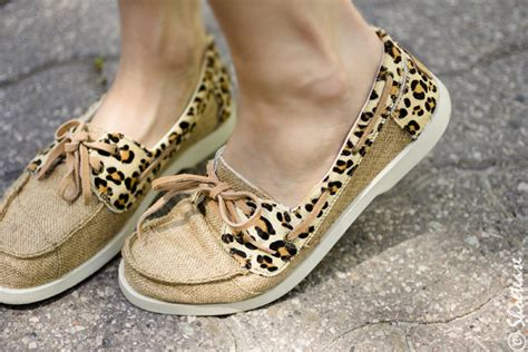 Leopard Boat Shoes by Leopard Print Boat Shoes For Summer How To Wear Leopard