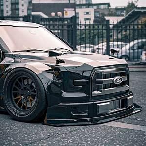 Slammed Ford F