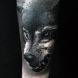 Black Wolf Tattoo | www.pixshark.com - Images Galleries ...