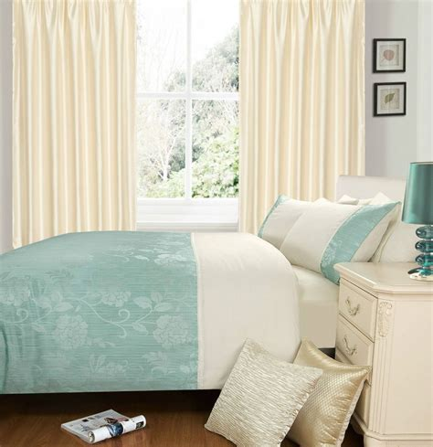 duck egg cream colour stylish duvet cover luxury