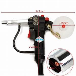 Spool Gun Gas Shielded Welding Gun Push Pull Aluminum