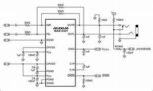 Audio Jack Circuit Diagram