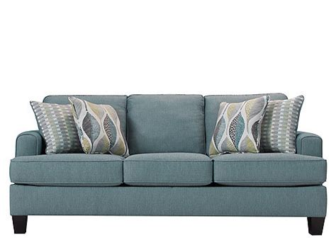 willoughby queen sleeper sofa aqua mocha raymour
