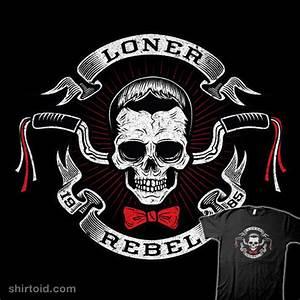 The Rebel Rider | Shirtoid