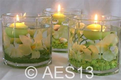 decoration zen bougies idees deco mariage deco florale