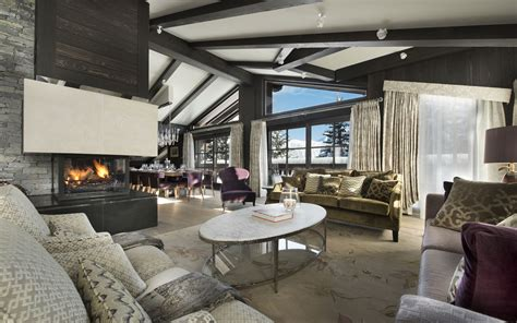 luxury ski chalet chalet le coquelicot courchevel 1850 firefly collection