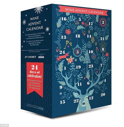 aldi releases  wine advent calendar daily mail