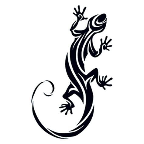 Tribal Lizard Temporary Tattoo Usimprints