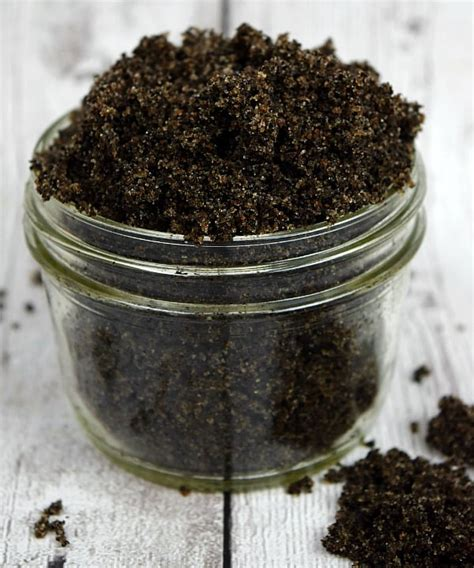 The fact that a negative. Homemade Coffee Sugar Scrub - Simply Stacie