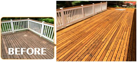 Natural Wood Deck Stain