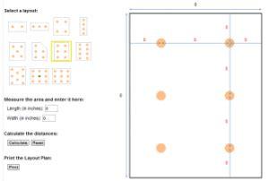 recessed lighting layout calculator free recessed lighting calculator