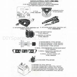 Countax A2050 Lawn Tractor 2007  2007  Parts Diagram  Electrical Parts  Pre Oms