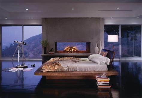 santos platform bed contemporary bedroom los angeles  environment furniture