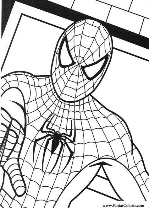 drawings  paint colour spiderman print design
