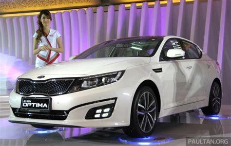 Kia Optima facelift shown at IIMS - reaching us soon?