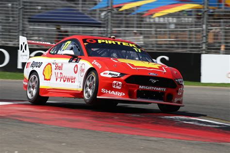 mclaughlin mustang fastest in practice 2 supercars